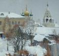 Бугаев А. «Свежий снег в Коломне». 1993,  х., м., 60х71