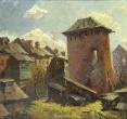 Комаровский И. «Ветхий город». 1987, х., м., 75х60