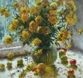Комаровский И. «Натюрморт с золотыми шарами». 2002, х., м., 80х60