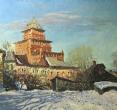 Комаровский И. «У пятницких ворот». 2000, х., м., 100х200