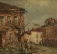 Комаровский И. «Розовый город». 1993, х., м., 20х30